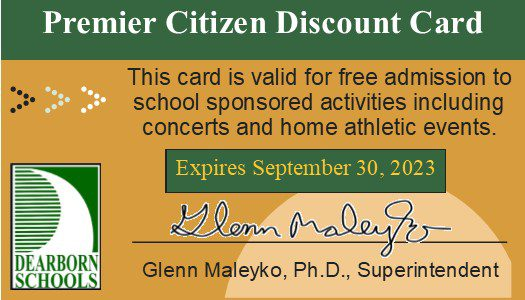 Press Release #07-District welcomes senior citizens to events with Premiere Citizens cards